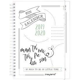 Mayland Doodle II A5, studiekalender uge, FSC Mix