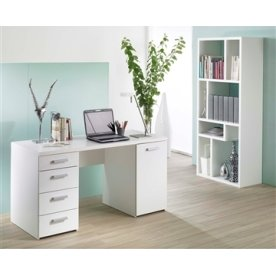 Basic Option Skrivebord, hvid
