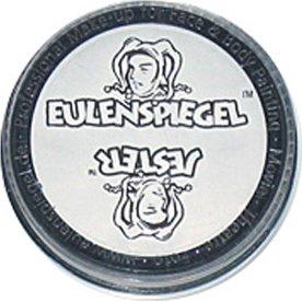 Eulenspiegel Ansigtsmaling, 20 ml, white
