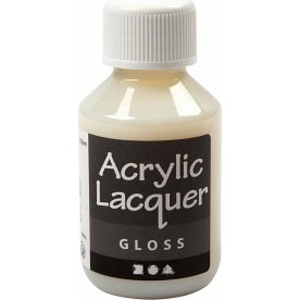 Akryllak, blank, 100 ml