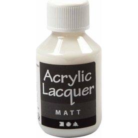 Akryllak, mat, 100 ml