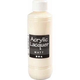 Akryllak, mat, 250 ml