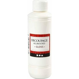 Decoupagelak, blank, 250 ml