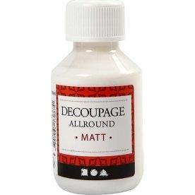Decoupagelak, mat, 100 ml