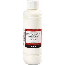 Decoupagelak, mat, 250 ml