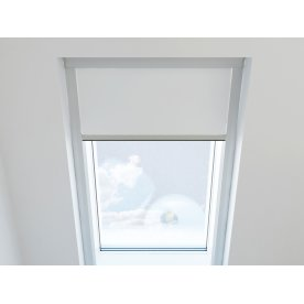 Debel Skylight Rullegardin Mørkl, 61,3x11 cm, Hvid