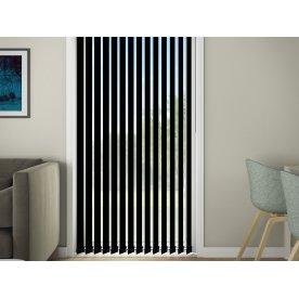 Debel D'Lux Lamelgardin, 150x250 cm, Sort