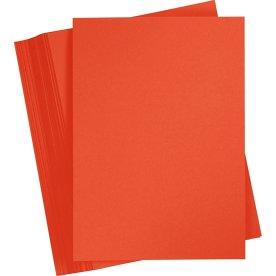 Karton Play Cut A4, 180g, A4, 100ark, postrød