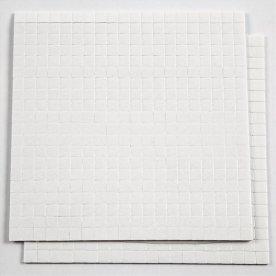 3D Klæbepuder, 5x5x1 mm, 800 stk