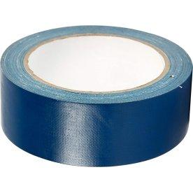Lærredstape, 38 mm x 25 m, blå