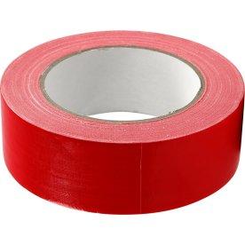 Lærredstape, 38 mm x 25 m, rød