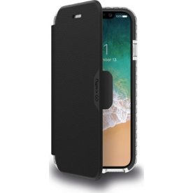 Celly Hexawally iPhone X / XS cover, sort