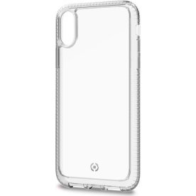 Celly Hexalite iPhone X/XS cover, transparent