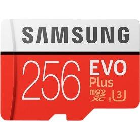 Samsung microSD Evo Plus 256 GB hukommelseskort