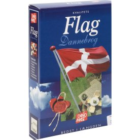 Dano Mast Dannebrogsflag, 225x170 cm, 8 meter
